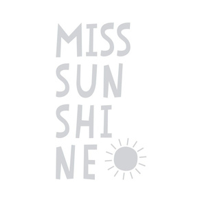 miss sunshine grey mod baby » plush + pillows // fat quarter