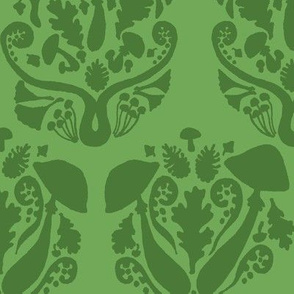 Autumn Damask // Green