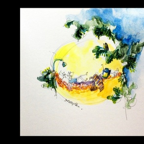 Cushion_watercolor01