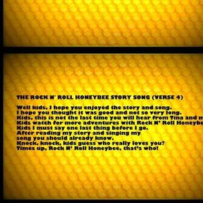 Rock N Roll Honeybee Verse 4