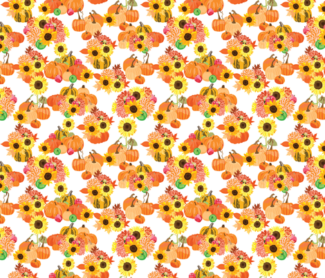 AutumHarvest fabric by vieiragirl on Spoonflower - custom fabric