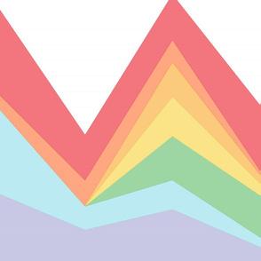Area Chart in Jewel Bright