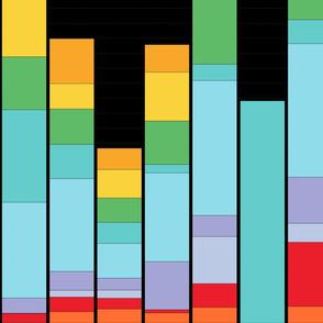 Bar Chart in Jewel Bright