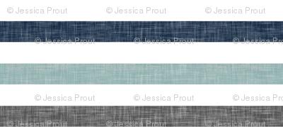 stripes || navy grey dusty blue