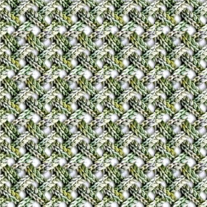 Handknit Grid
