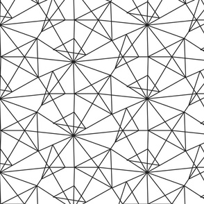 Linear triangles grid