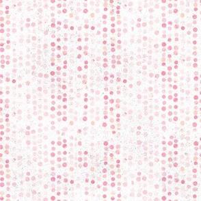 Polkadots Painted Pink