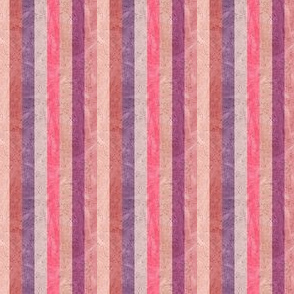 Monochrome Pink Painted Stripes
