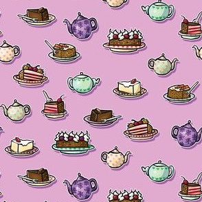 Tea & Cakes Pink