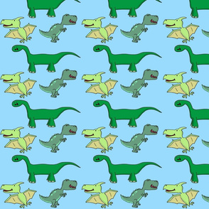 Dinosaur Blue