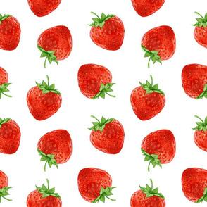 Hand-drawn Strawberry.