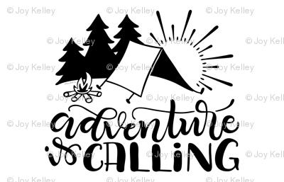 "Adventure is calling - (56x36"") 1 yard set up - Minky - Fleece - Organic cotton"