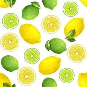 Lemon and lime.
