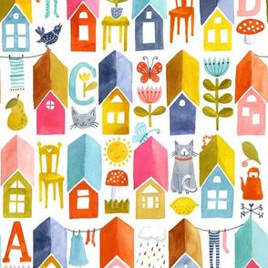 Happy Little Houses
