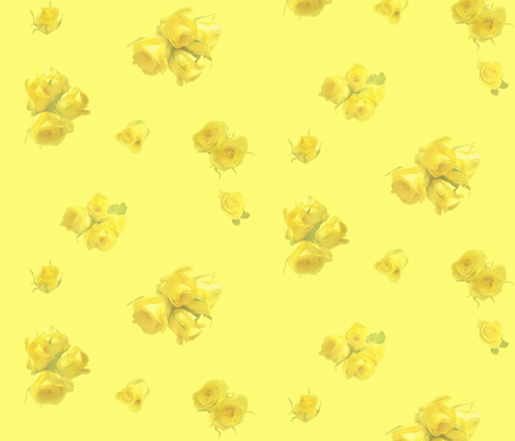 Soft_yellow fabric by gothiccolour on Spoonflower - custom fabric
