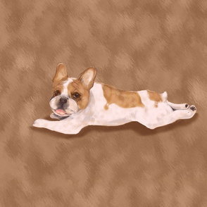 Paint me Like a French Bulldog for Pillow