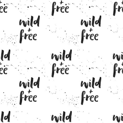 wild and free  fabric by littlearrowdesign on Spoonflower - custom fabric