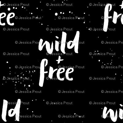 wild and free || black