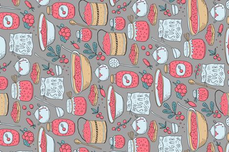 Jam season fabric by kostolom3000 on Spoonflower - custom fabric