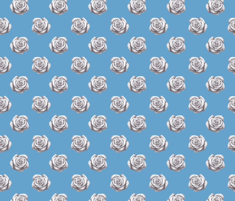 Vintage rose. fabric by victoria_novak_ on Spoonflower - custom fabric