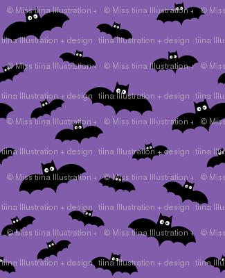 bats on purple » halloween