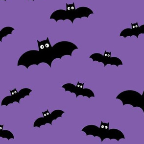 bats on purple » halloween