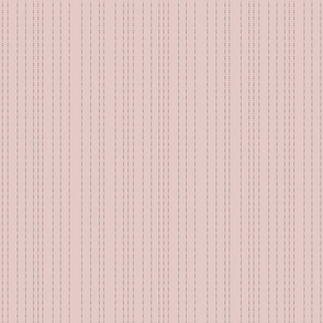Dotted line dusty pink
