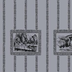 Tenniel's Alice (grey)