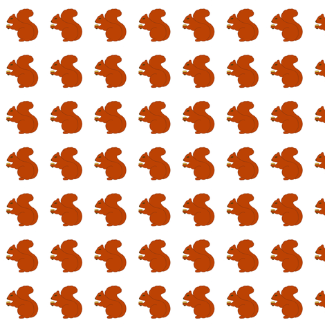 Squirrels - Feeling Squirrely Collection fabric by pumpkintreelane on Spoonflower - custom fabric