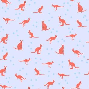 Kangaroos and Dots