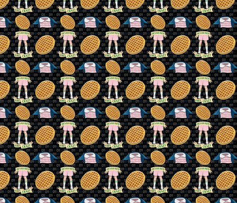 She's Our Friend fabric by tabpin on Spoonflower - custom fabric