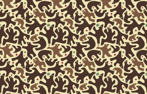 Berry_Bears fabric by margodepaulis on Spoonflower - custom fabric