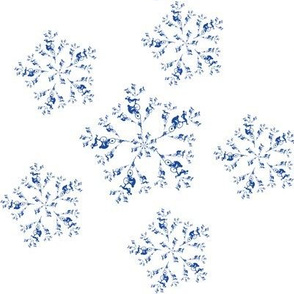 Triathlon Snowflake