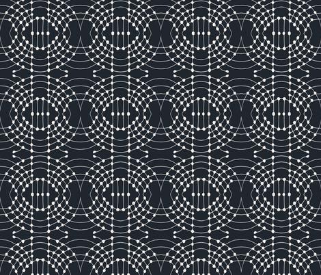 constellations_dark fabric by holli_zollinger on Spoonflower - custom fabric