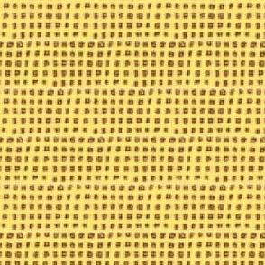 Lumpy Yellow Grid