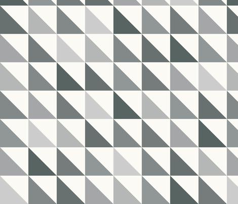 Angled Gray fabric by littlerhodydesign on Spoonflower - custom fabric