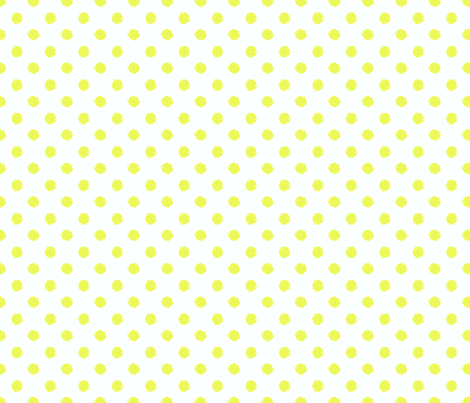 Wavy Ditsy Dot fabric by littlerhodydesign on Spoonflower - custom fabric