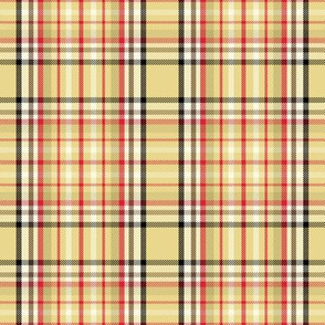 Autumn Khaki Plaid