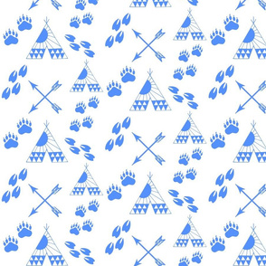 BEAR_DEER_Coordinating_Print-BLUE-_FINAL