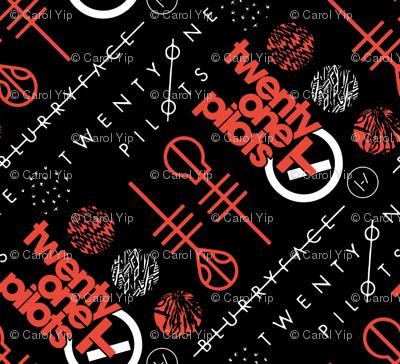 TØP Logos Pattern