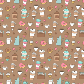 coffee_objects_pattern
