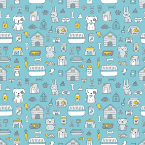 pet shop pattern 4