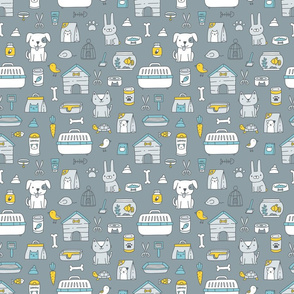 pet shop pattern