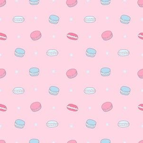 macarons pink