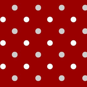 Alabama Crimson Dot