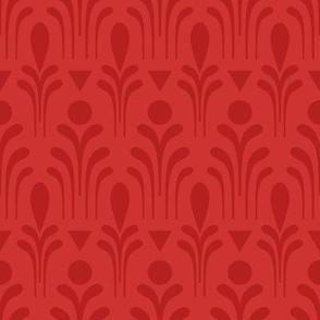 Deco Fleur (red)