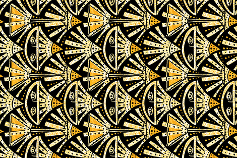 The Sidecar fabric by graceful on Spoonflower - custom fabric