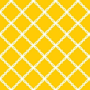 Michigan Yellow Diamond Trellis