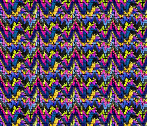 teen angst puzzle fabric by wandadawndesigns on Spoonflower - custom fabric