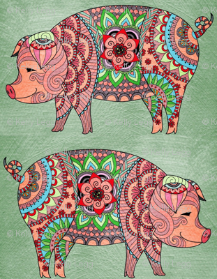 Pretty piggies